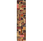 Link to 2' 10 x 13' 6 Kilim Patchwork Runner Rug