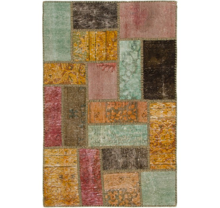 2' 10 x 4' 4 Ultra Vintage Persian Rug