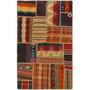 Unique Loom 2' 9 x 4' 4 Kilim Patchwork Rug