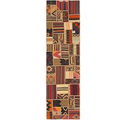 Link to 2' 10 x 10' 7 Kilim Patchwork Runner Rug
