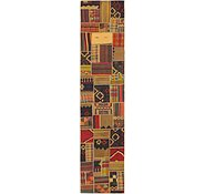 Link to 2' 10 x 13' 7 Kilim Patchwork Runner Rug