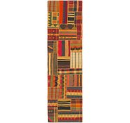 Link to 2' 8 x 10' Kilim Patchwork Runner Rug