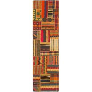 Link to 2' 8 x 10' Kilim Patchwork Runner... item page