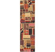 Link to 2' 10 x 10' 2 Kilim Patchwork Runner Rug