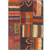 Link to 2' 8 x 3' 10 Kilim Patchwork Rug