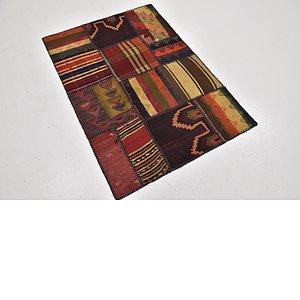 Link to 80cm x 117cm Kilim Patchwork Rug item page