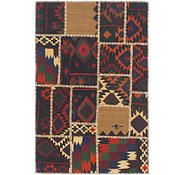 Link to 3' x 4' 6 Kilim Patchwork Rug