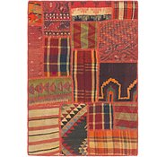 Link to 2' 7 x 3' 9 Kilim Patchwork Rug