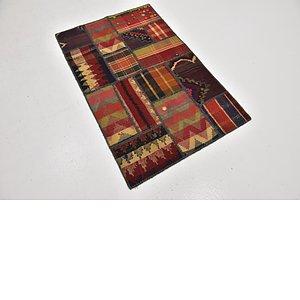 Link to 80cm x 127cm Kilim Patchwork Rug item page