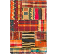 Link to 3' x 4' 5 Kilim Patchwork Rug
