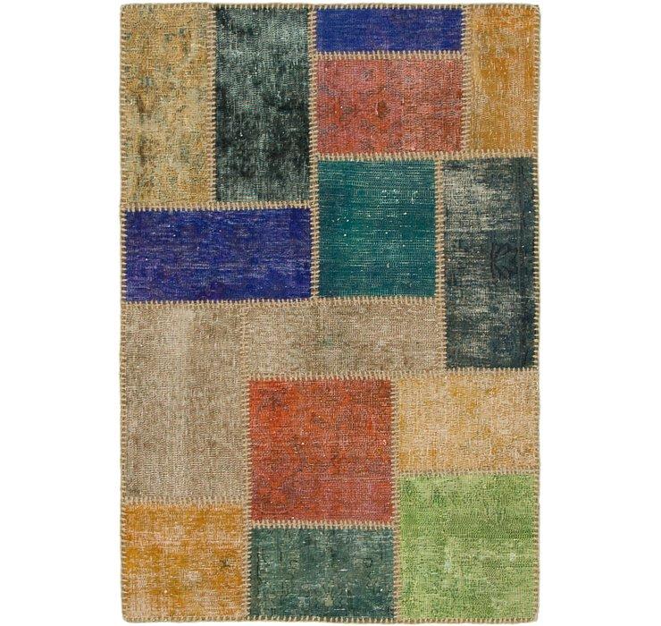 2' 9 x 4' 1 Ultra Vintage Persian Rug