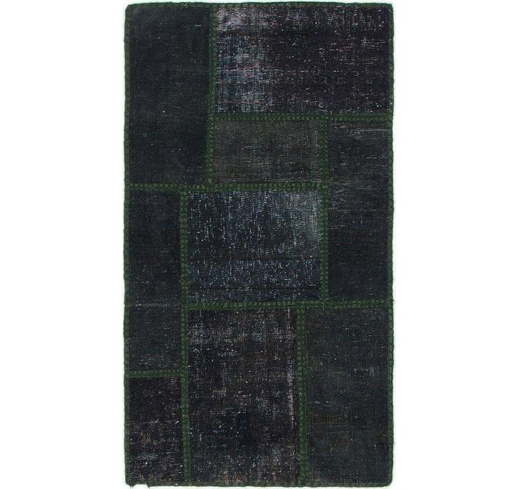 1' 10 x 3' 4 Ultra Vintage Persian Rug