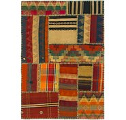 Link to 3' x 4' 2 Kilim Patchwork Rug