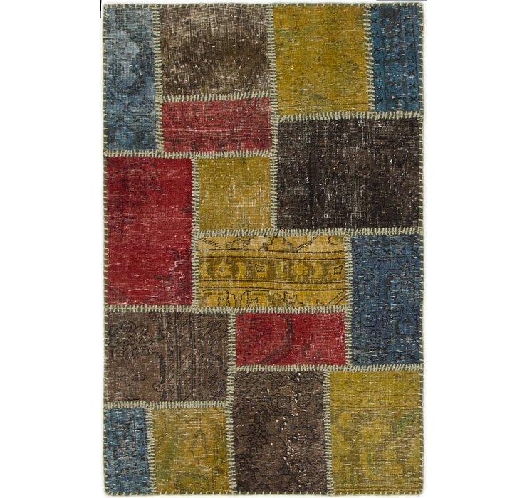 2' 4 x 4' 2 Ultra Vintage Persian Rug