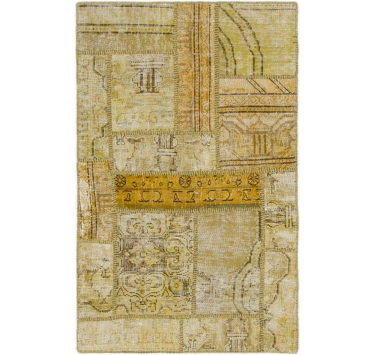 85cm x 132cm Ultra Vintage Persian Rug