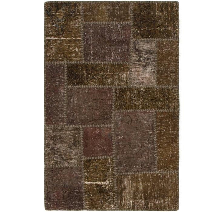 2' 9 x 4' 5 Ultra Vintage Persian Rug