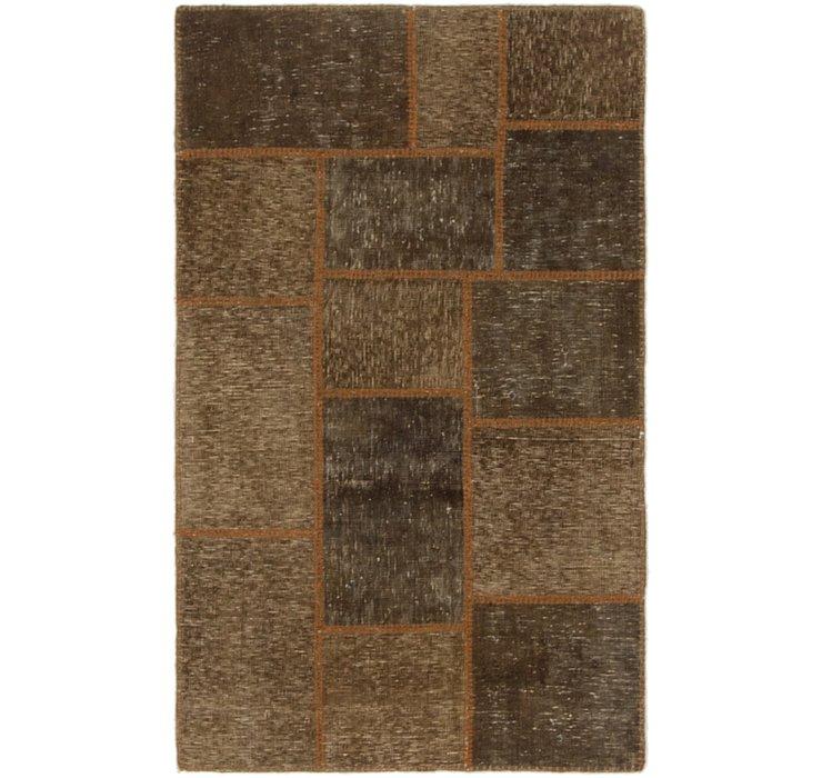 2' 8 x 4' 4 Ultra Vintage Persian Rug