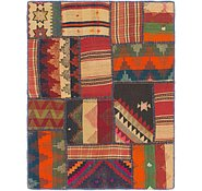Link to 3' x 4' Kilim Patchwork Rug