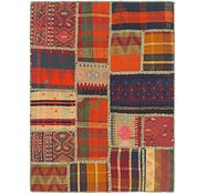 Link to 2' 10 x 3' 10 Kilim Patchwork Rug