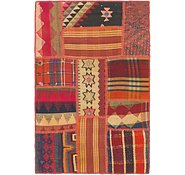 Link to 2' 6 x 3' 10 Kilim Patchwork Rug