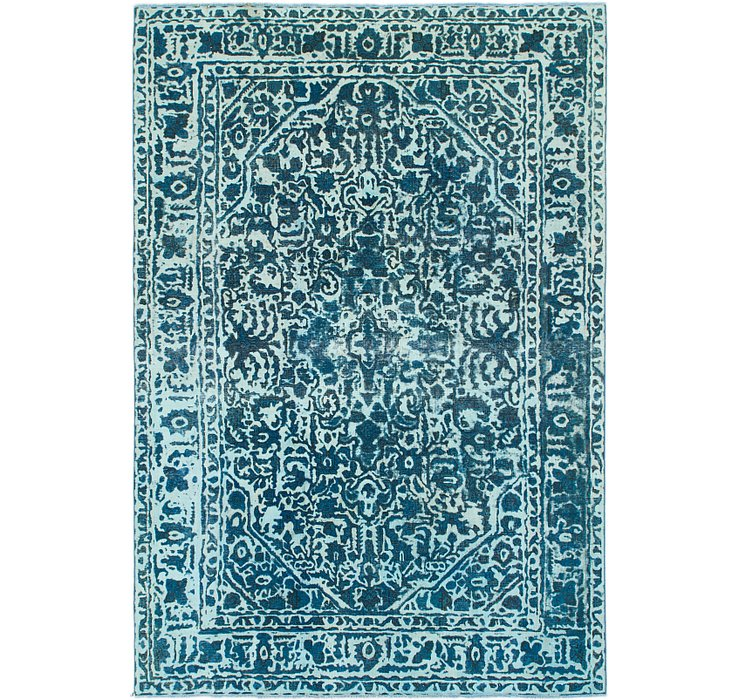195cm x 290cm Ultra Vintage Persian Rug
