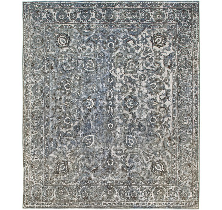 HandKnotted 9' 5 x 11' Ultra Vintage Persian Rug