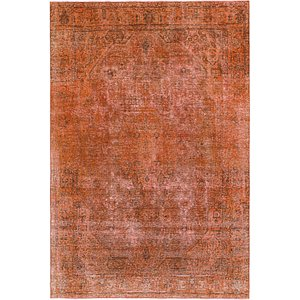HandKnotted 6' 4 x 9' 5 Ultra Vintage Persian Rug