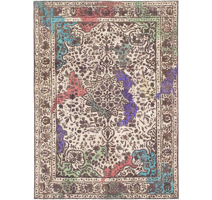 250cm x 340cm Ultra Vintage Persian Rug