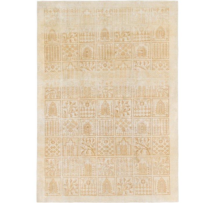 6' 4 x 9' Ultra Vintage Persian Rug