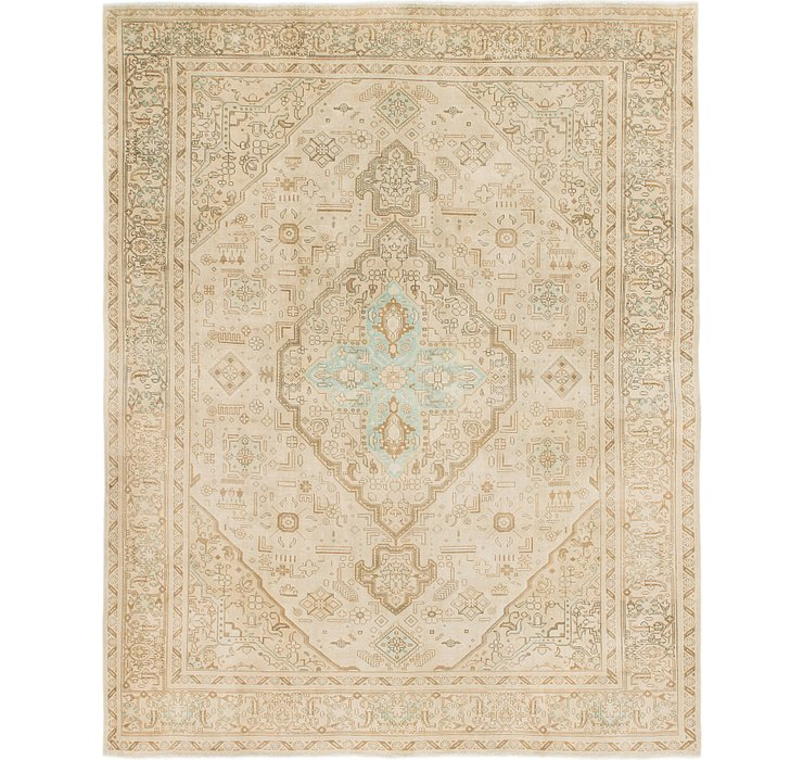 8' 7 x 11' 2 Ultra Vintage Persian Rug
