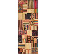 Link to 2' 10 x 8' 2 Kilim Patchwork Runner Rug