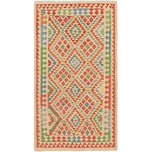 Unique Loom 3' 7 x 6' 5 Kilim Maymana Rug