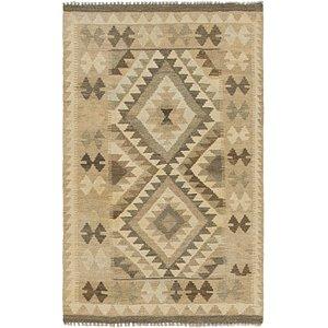 Unique Loom 2' 7 x 4' 1 Kilim Maymana Rug