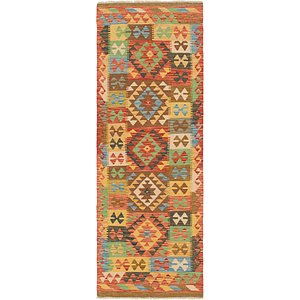 Link to 2' 3 x 6' 6 Kilim Maymana Runner Rug item page