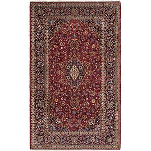 6' 9 x 11' Mashad Persian Rug