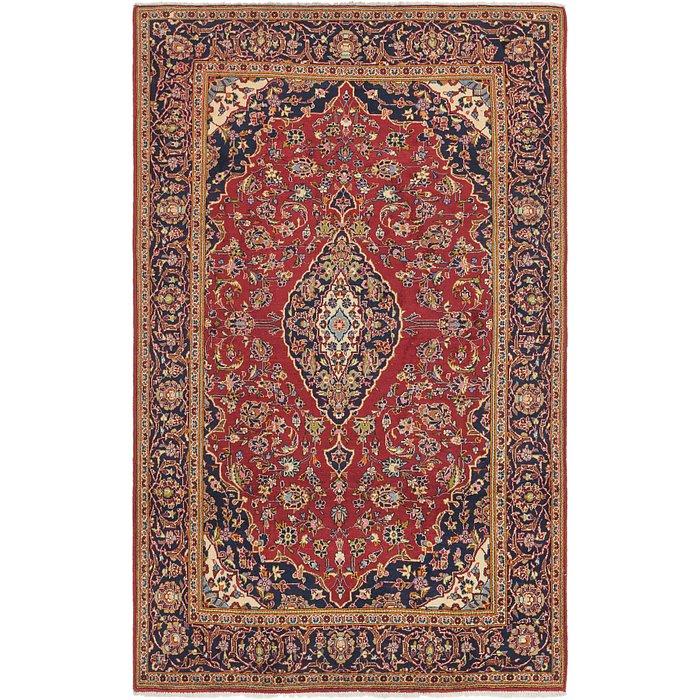 6' 5 x 10' 6 Kashan Persian Rug