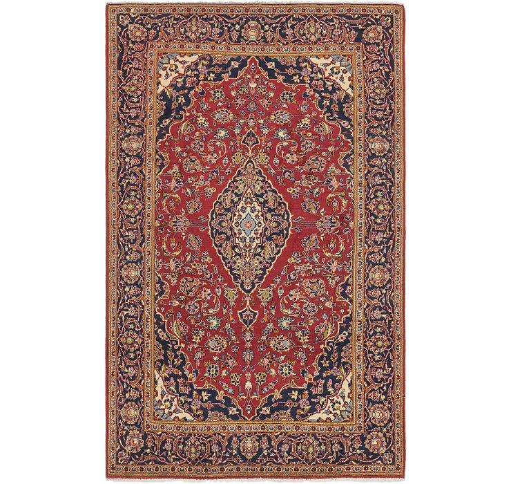 195cm x 320cm Kashan Persian Rug