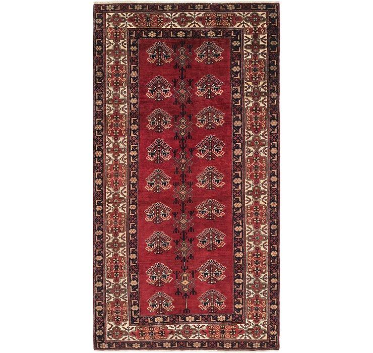 5' 3 x 10' 2 Hamedan Persian Rug