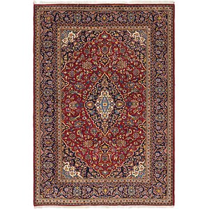 Link to 6' 10 x 9' 10 Kashan Persian Rug page