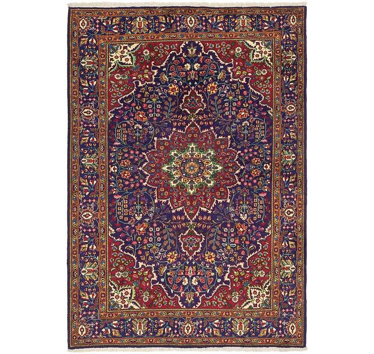 208cm x 297cm Tabriz Persian Rug