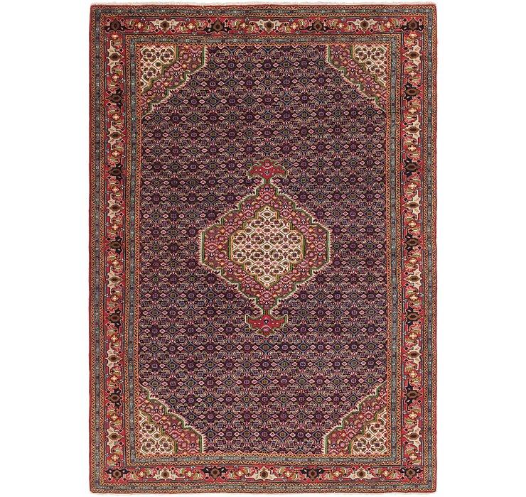 6' 4 x 9' Tabriz Persian Rug