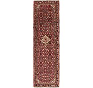 Link to 3' 9 x 13' Hossainabad Persian Runner Rug
