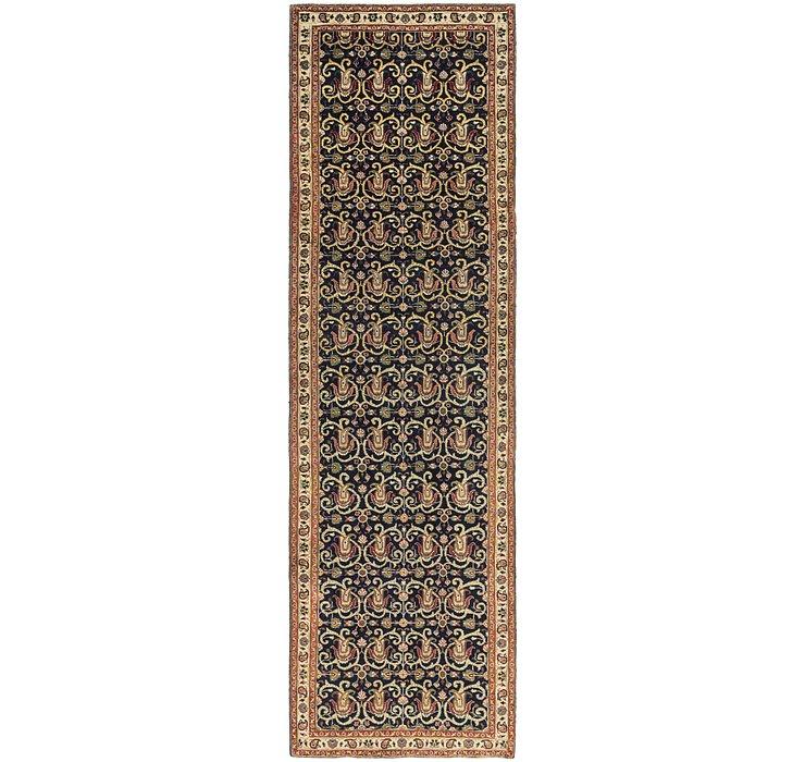 3' 9 x 13' 10 Tabriz Persian Runner Rug