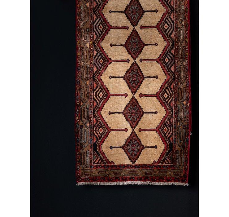 3' 3 x 10' Chenar Persian Runner Rug
