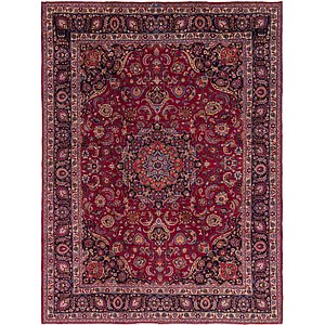Link to 9' 10 x 12' 8 Mashad Persian Rug item page