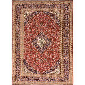 9' 6 x 13' Kashan Persian Rug