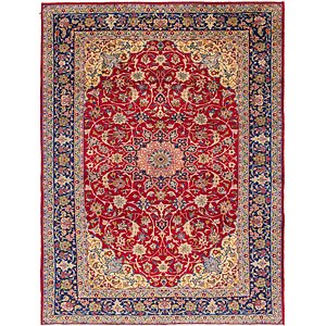 9' 4 x 12' 5 Isfahan Persian Rug