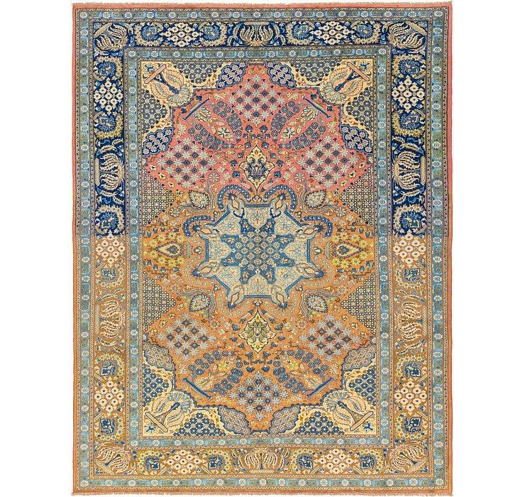10' 2 x 13' 3 Isfahan Persian Rug