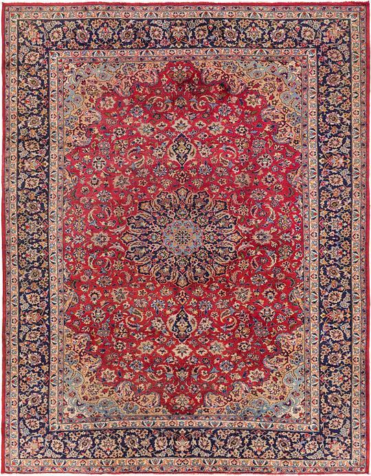 Red 9 9 X 12 8 Isfahan Persian Rug Persian Rugs Esalerugs