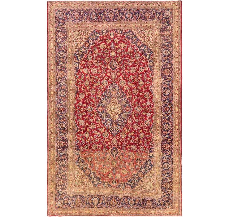 9' 7 x 15' 2 Kashan Persian Rug